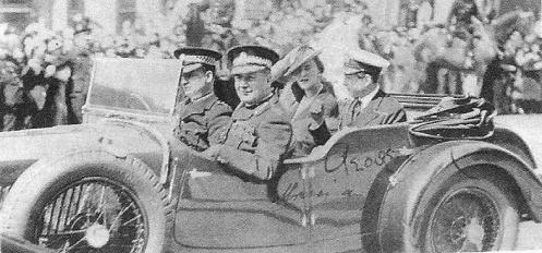 Sir Percy Sillitoe withe the Duke and Duchess of Kent on an official visit to Glasgow in May 1935. Almost certainly 12070 (YS 1035) or 12074 (YS 1036)