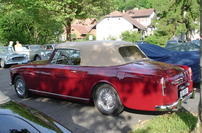 26730 Roland Geiger's Park Ward TD21 Drophead, the last Series 1 originally owned by Baron von Pellandt of Nina and Frederick fame