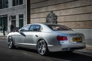 ...as did the Flying Spur Bentley V8.