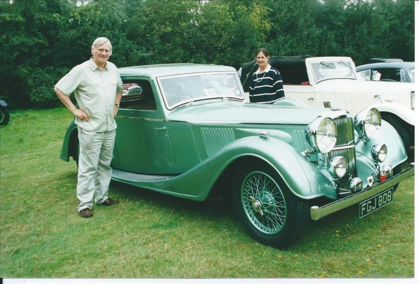 Speed 25 Vanden Plas - George Butlin at SEAD 2001