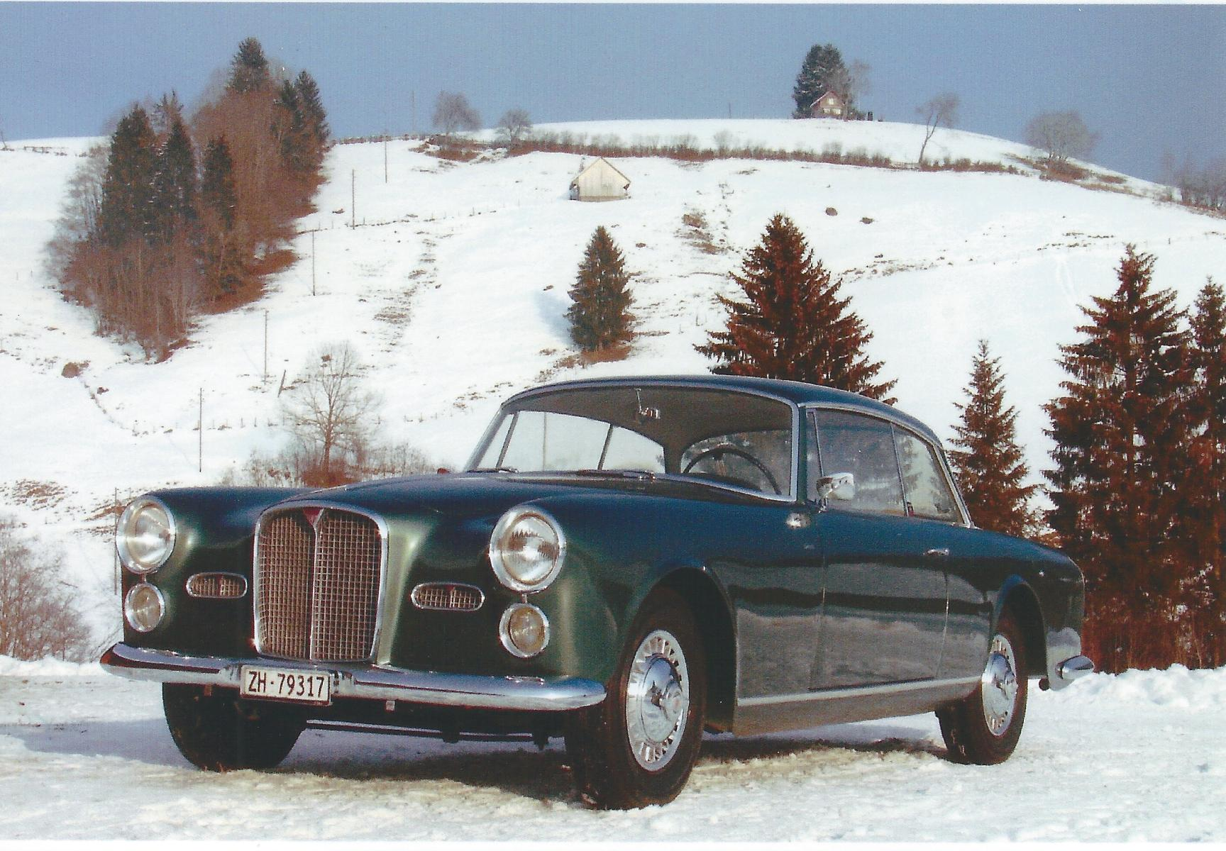 26777 Graber TD21 Series II coupe, formerly owned and restored by Werner Graf
