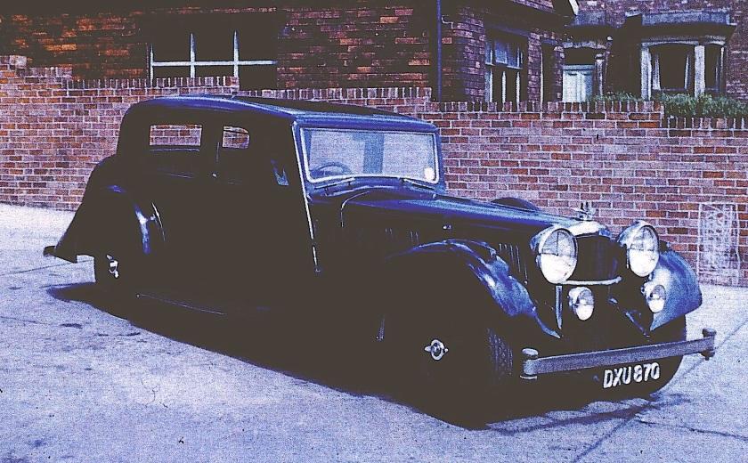 14303 4.3 Litre SA Mayfair Carriage Saloon, DXU 870