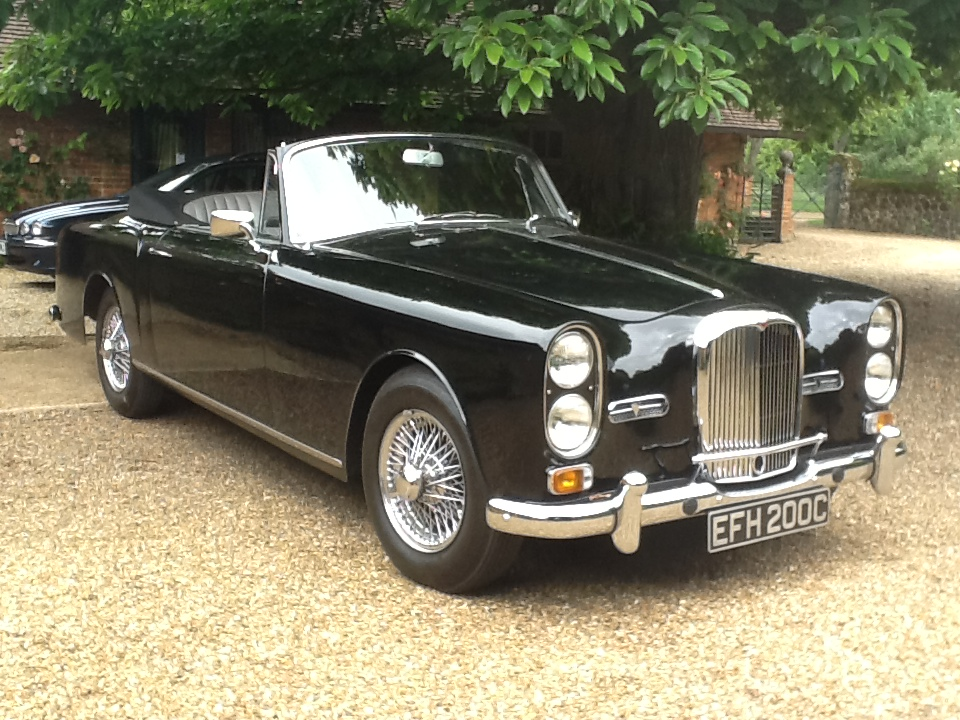 27242 1965 TE21 Mulliner Park Ward drophead coupe - photo and owner Mark Seligman