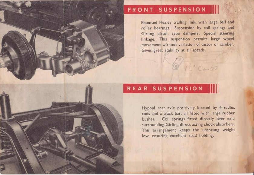 This a rare derivative using only the Three Litre engine and gearbox. Some 28 were made during 1951-54