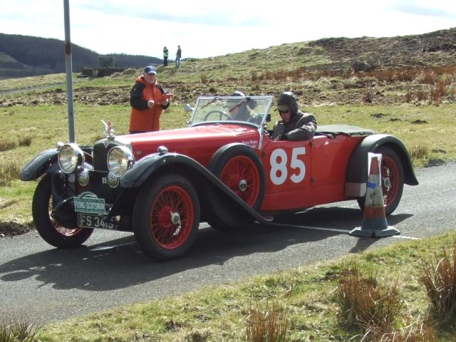 85 Phil Garratt / Kieron Brown Alvis Speed 20 0:34:09 were 38th overall and 5th in c4