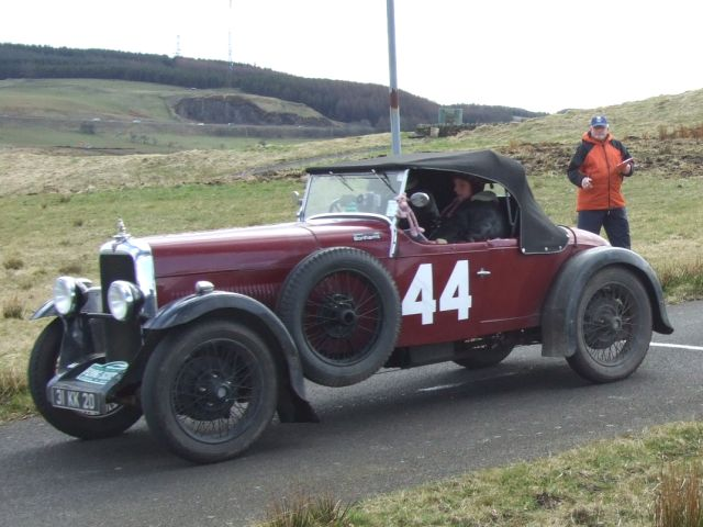 44 Mickey Gabbett / Edwina Gaisford-St Lawrence Alvis 12/60 Beetleback 0:39:29 came 41st overall and 5th /c3