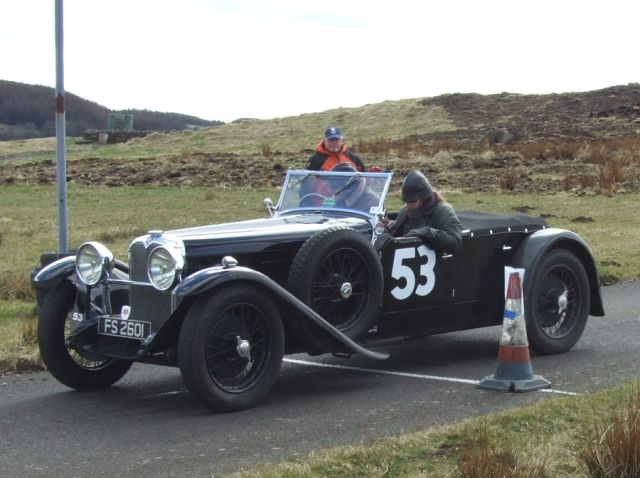 53 Nicholas Phillips / Barbara Phillips Alvis Speed 20 0:45:18 were 46th overall and 6th in c4