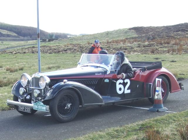 62 Francis Galashan / Graeme Dobbie Alvis Tourer VDP 3:10:11 were 61st overall and 10th in c7