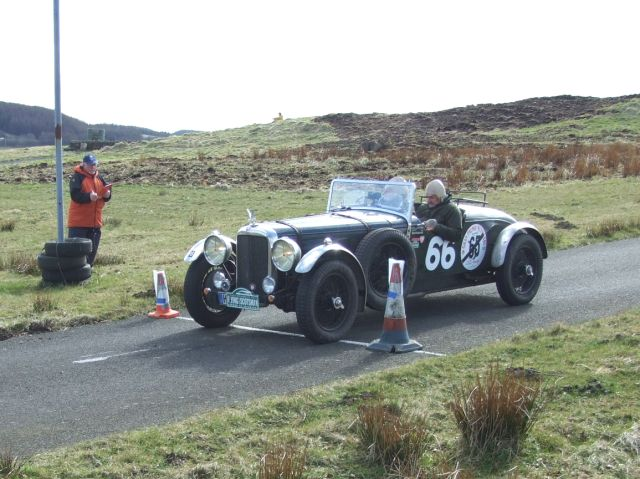 66 Bernhard Hubel / Michael Pielorz Alvis Speed 25 7:18:38 were 73rd overall and 14th in /c5