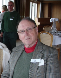 Nick Georgano was on holiday in Switzerland and was able to accept our invitation to Sunday lunch in Au, by the Zurichsee