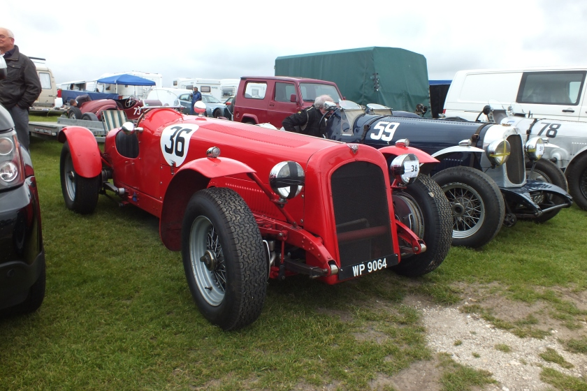 Brian Maile's 1935 Speed 25 special, 2012 winner of the Melville Troiphy
