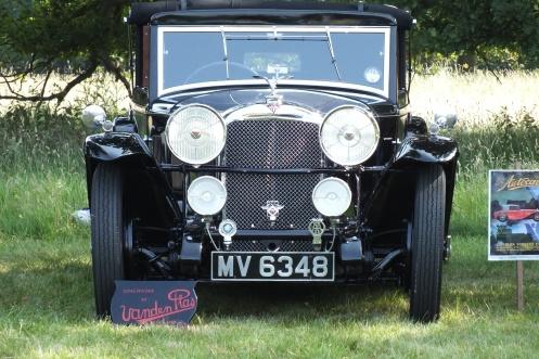 10057 Speed 20 SA Vanden Plas at Ickworth - photo AAT Fox Collection
