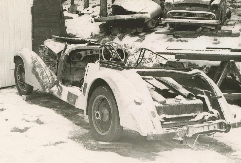 14846 vdp SC tourer circa 1969 as found by Svein Storsveen in a Norwegian scrap yard1