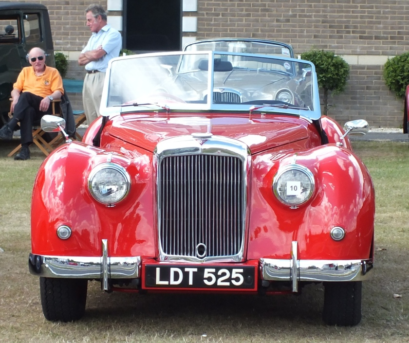 Mike Wilson's Concours winning TB21 at Midland Alvis Day 2013 (AAT photo)