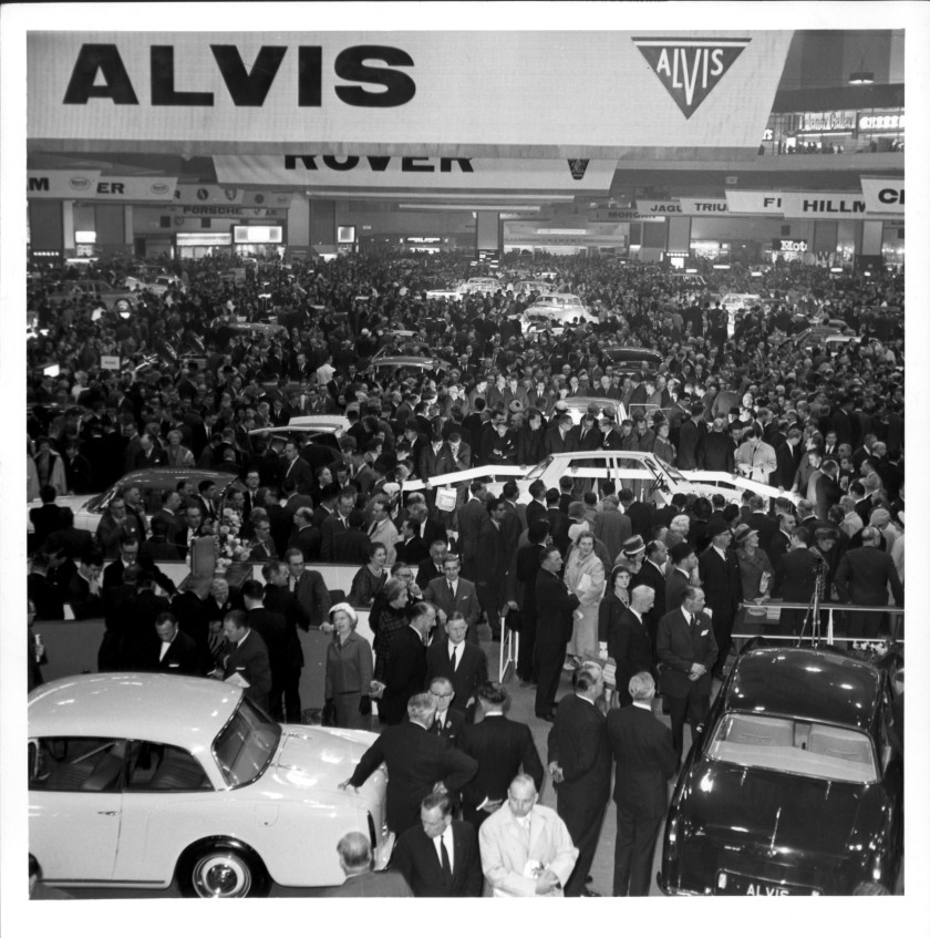 1963 Earls Court Motor Show