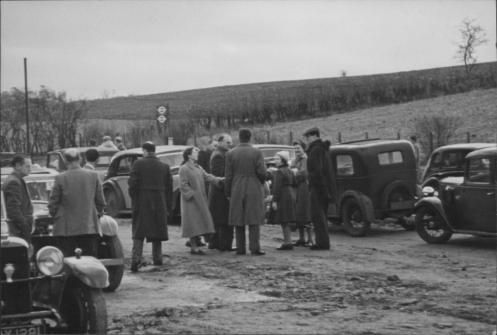 1955 Kent Rally - start at Badger's Mount 4-25-2