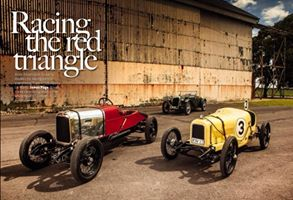 The April Edition of Classic and Sports Car features Alvis Racing Cars at Bicester Heritage