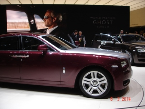 The Ghost II appeared at Geneva.