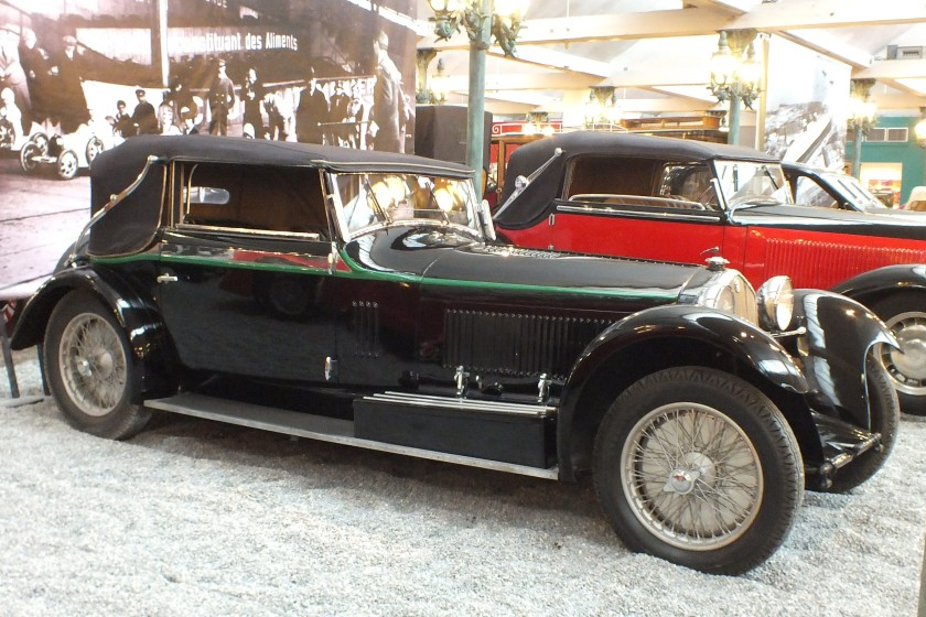 A Graber Alfa at the Schlumpf Collection