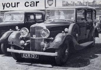 Ch 13761, EKR 137, 1937 Mayfair Limousine, TA 25.63.