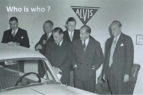 From teh Swiss Car Register archives comes this photo of the 1955 Paris Motor Show hosted by Jacques SAVOYE, Importateur, 237 Bd Pereire, Paris 17. Can anyone identify the six men admiring 25856 TC21/100 Graber (see Nick Simpson's article Rara Avis)