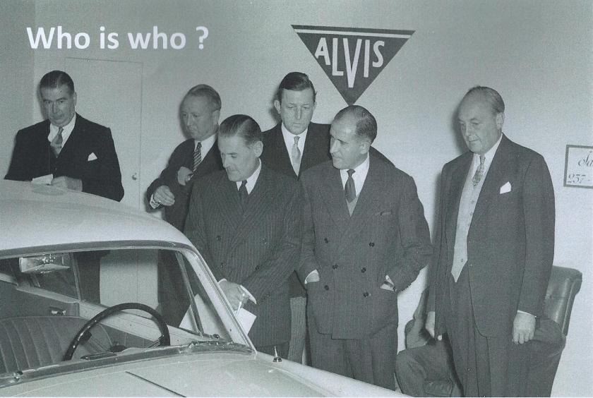 From the Swiss Car Register archives comes this photo of the 1955 Paris Motor Show hosted by Jacques SAVOYE, Importateur, 237 Bd Pereire, Paris 17. Can anyone identify the six men admiring 25856 TC21/100 Graber (see Nick Simpson's article Rara Avis)