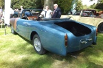 Hugh Westlake's TD21 saloon converted into a Dhc by Fisher restoration in a non original blue