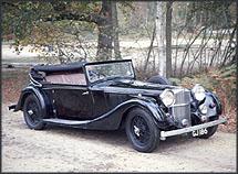 14400 Speed 25 SB Charlesworth Dhc 1937 EGJ 186 in Beaulieu