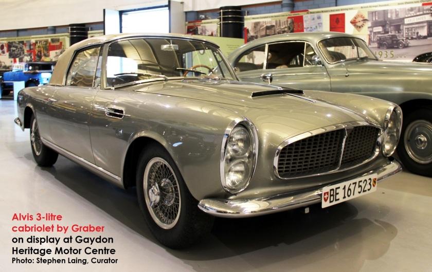 1965 Alvis Super Graber