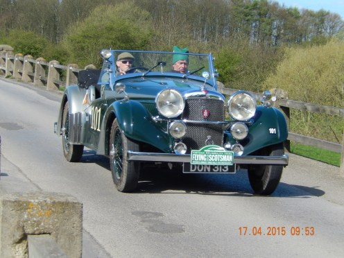 Peter Read / Benjamin Cussons were 9th in Class 7 and 41st overall in their 1937 4.3 - Photo Paul Chasney