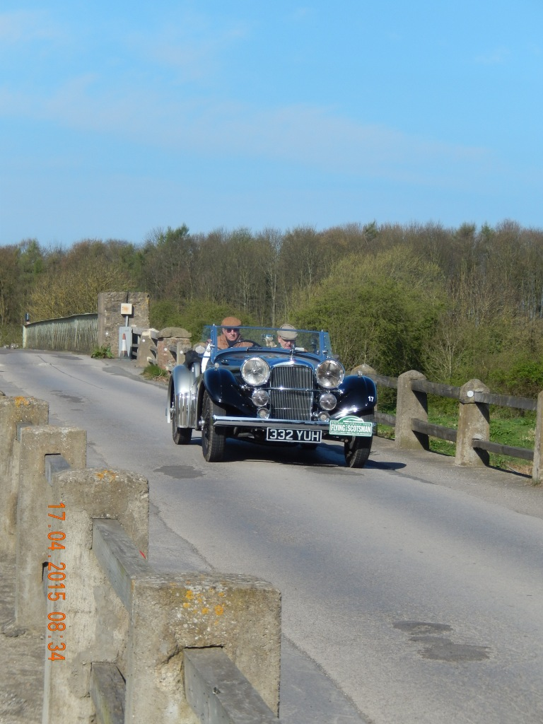 Richard Dresner / Colin Mackenzie were 6th in Class 7 and 30th overall in their 1937 Speed 25 with 4.3 engine - Photo Paul Chasney