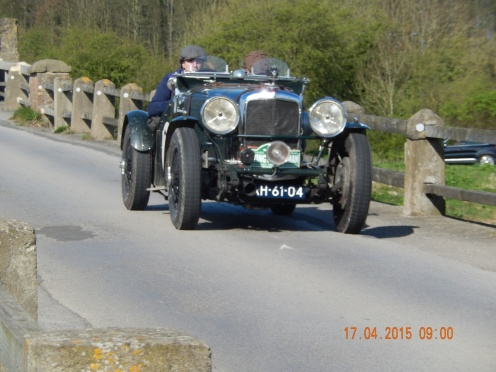 Bob Compiet / Austin Lion came 11th in Class 5 (up to 4000cc pre 41) and 62nd overall in their 1936 3.5 ltre special - Photo Paul Chasney