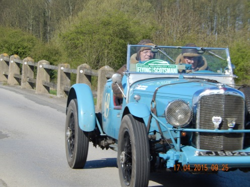 Willem Vermeulen / Ellen Vermeulen were 10th overall and 3rd in Class 7 in their 1934 Speed with 4.3 engine - Photo Paul Chasney -
