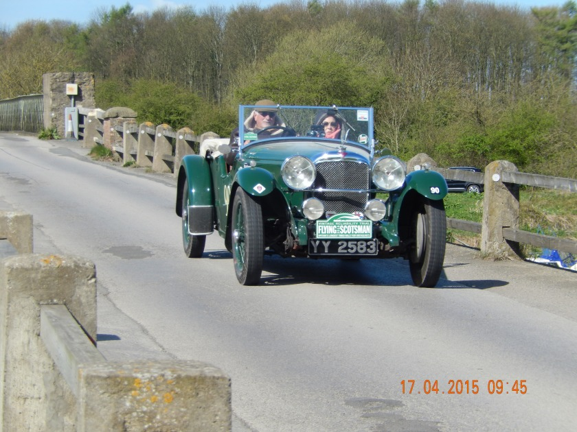 Jose and Maria Romao de Sousa came 7th in Class 4 (up to 3000cc pre 41) and 55th overall in their 1932 SA Speed 20 - Photo Paul Chasney