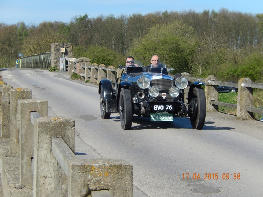 Russell Jordan and Gary Gibson came 8th in Class 4 and 69th overall in their 1935 Special Silver Eagle - Photo Paul Chasney