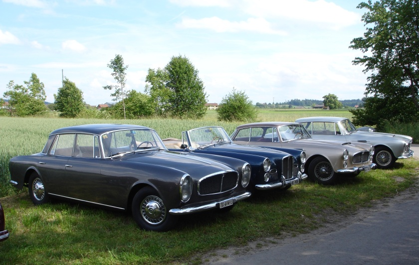 TD21 variations 4 door cabriolet, coupe, coupe Photo John Fox