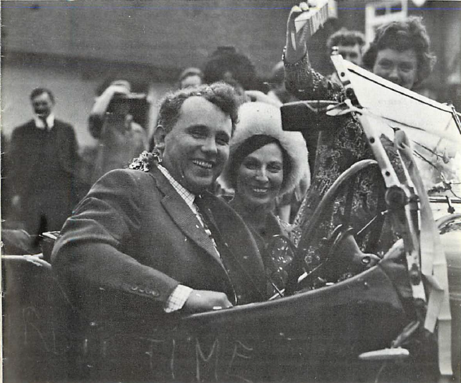 Humphrey and Margaret Collis on their wedding day 1975