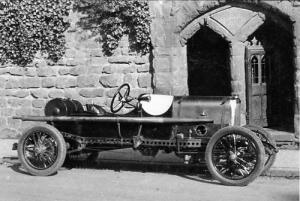 Alvis racing car No 1 - 2 2