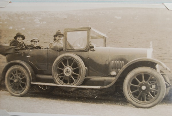 11-40 Alvis (MB 353) on Marine Drive, Llandudno, March 1923