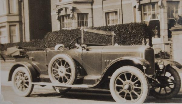 "11-40 outside ""Ordovia"", Tudno St., Llandudno, March 1923"