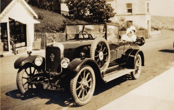 12-40 Alvis at Filey, June 1925