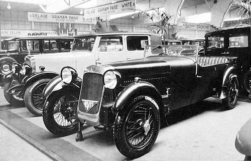 Alvis Stand London Show 1928 Front Wheel Drive