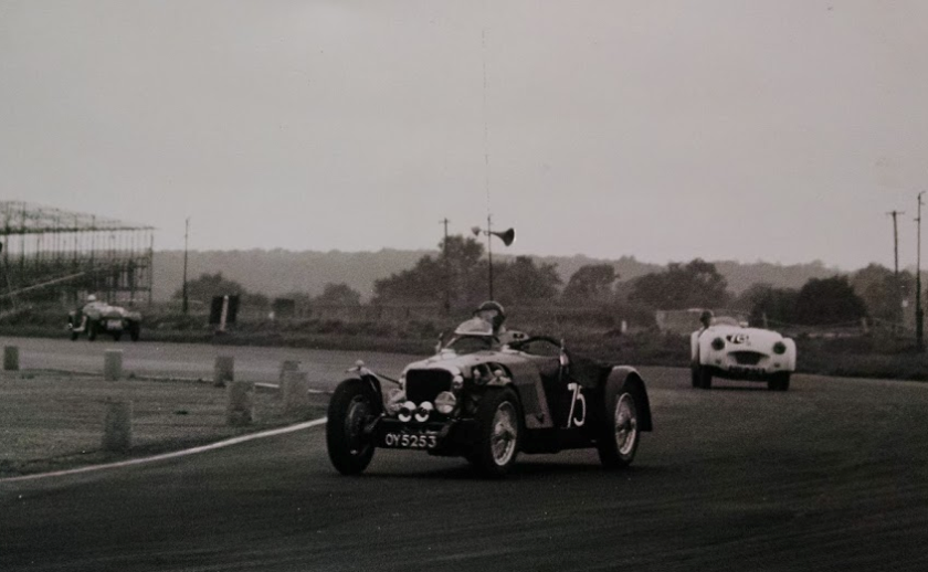 Silverstone, said to be 1954