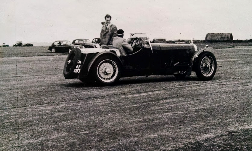 Earlier car I believe and at Thruxton in the early days….