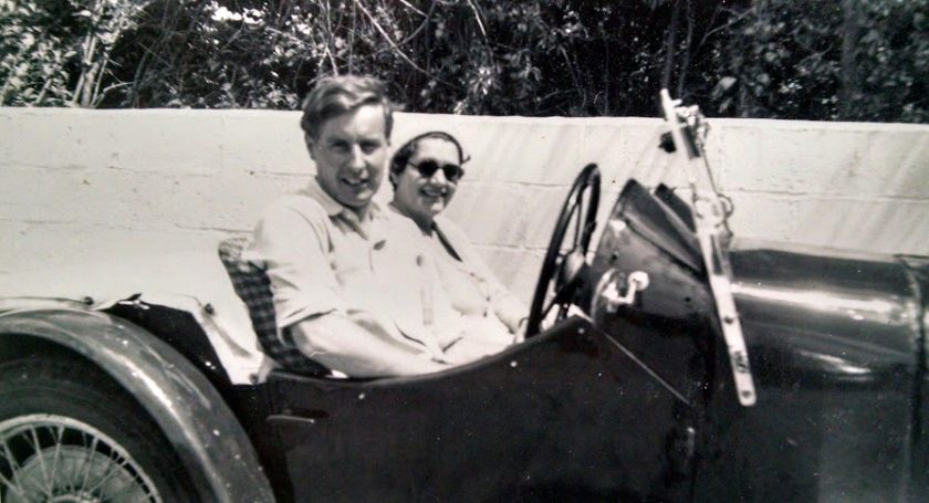 Brian and my mother, around 1953/4