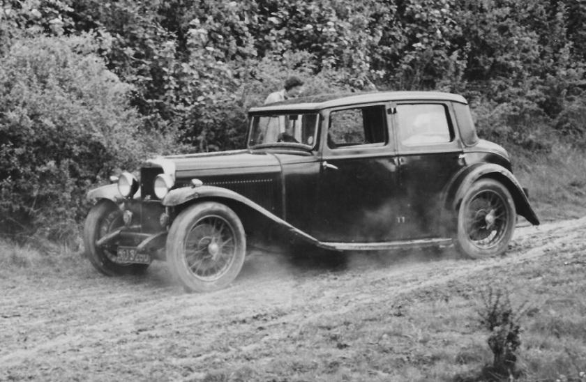Firefly XJ 5260 - 1953 Chiltern Rally