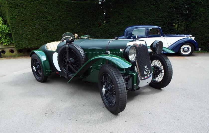 Mark Hayward's 1928 FD front whhel drive Le Mans replica