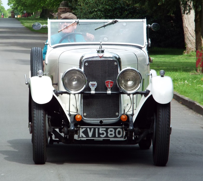 Andrew Broughton's 1932 12/60 Cross & Ellis 4 seater