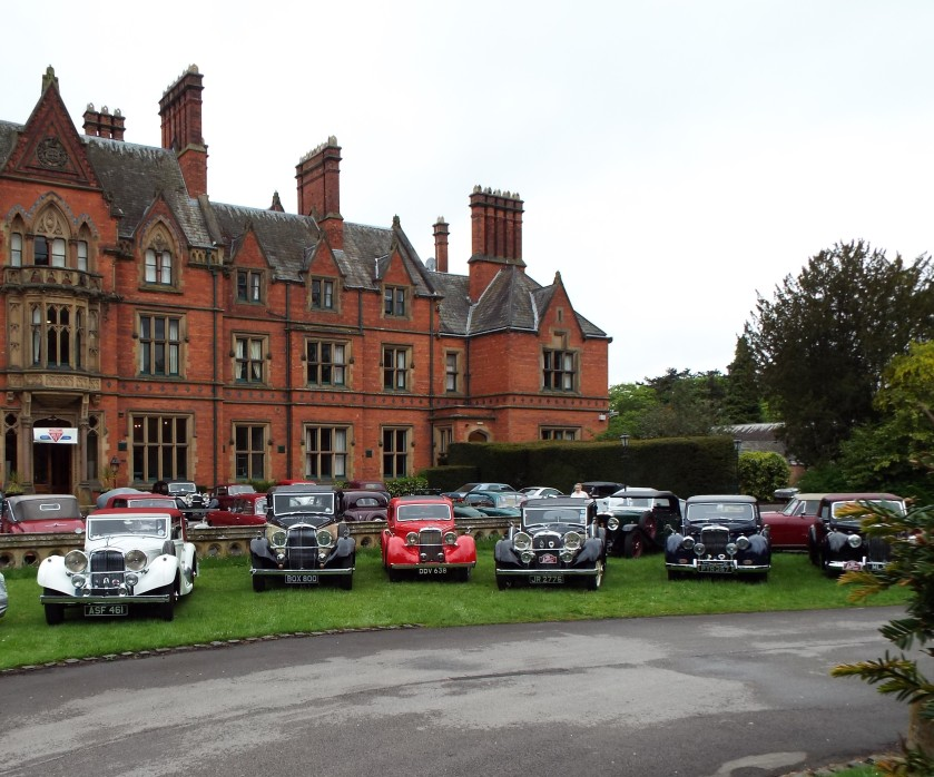 Wroxall Abbey adorned with Alvis