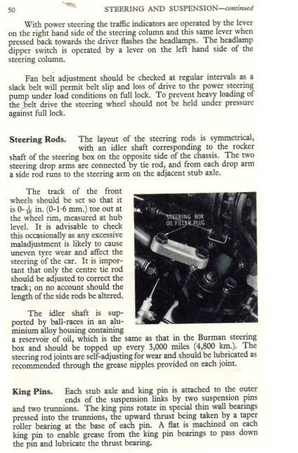 TF power steering p50